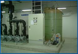 循環水備蓄タンク
